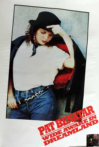 Pat Benatar - Wide Awake in Dreamland poster