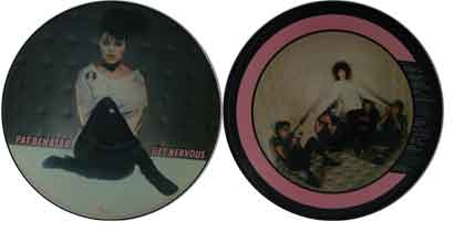 "Pat Benatar 12"" Picture Disc - Get Nervous"