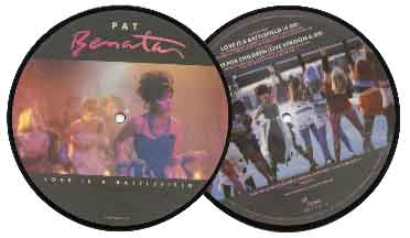 Pat Benatar 7' Picture Disc - Live From Earth
