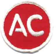 1970's AC Spark Plug patch