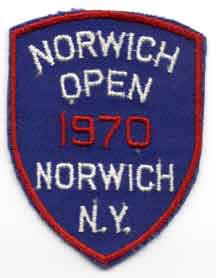 Norwich Open 1970 patch