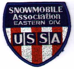 USSA Snowmobile Eastern Division patch