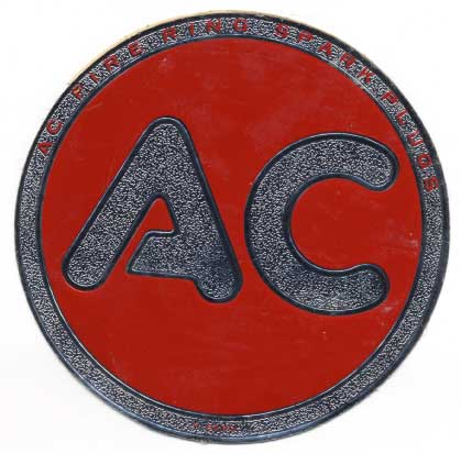 AC Spark Plug sticker