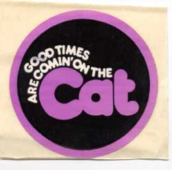 Arctic Cat Good Times sticker