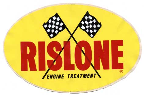 Rislone Engine Treatment sticker vintage